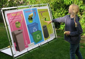Recycling Roadshow Kit bean bag game