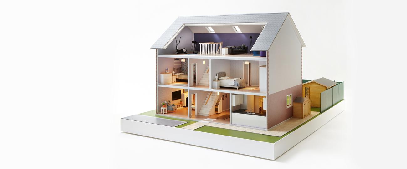 Homebase 'Life Improvement' Doll's Home