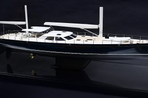 Antares Yacht Model – Private Commission