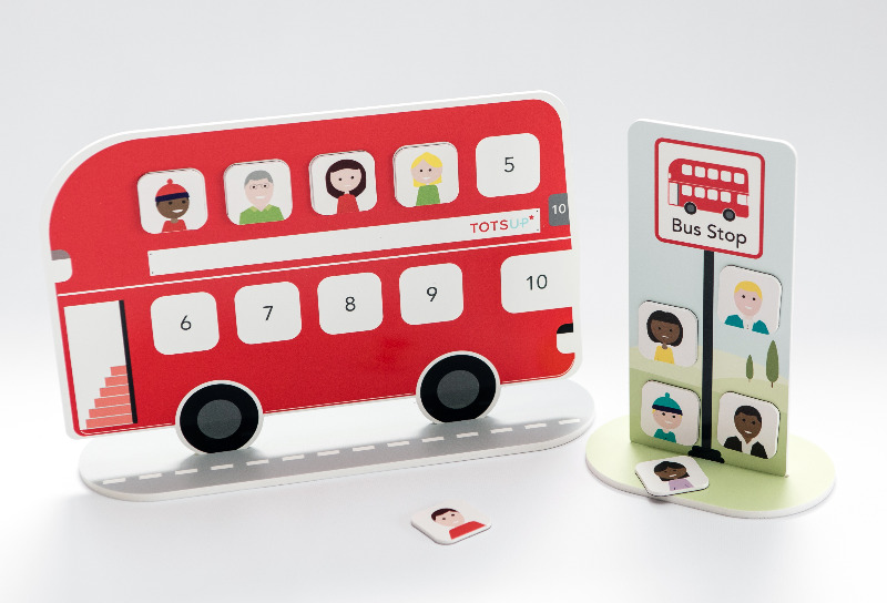 Developing TOTSUP, The Big Red Bus Reward Chart For Children – On Crowdfunder From 15 March!