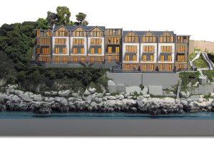 Architectural Model For Acorn's Marine Place Development