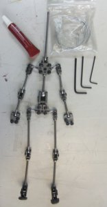 Julia Nichols New Blades armature puppet