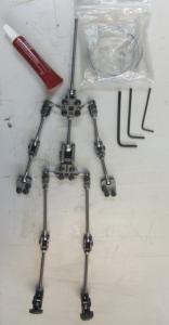 Julia Nichols New Blades armature puppet