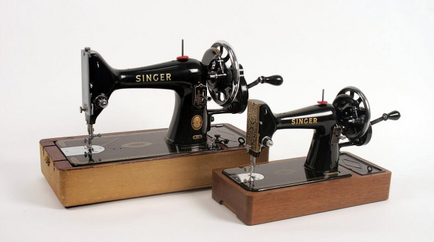 New Blades Glen McDouall Model Sewing Machine 610×340