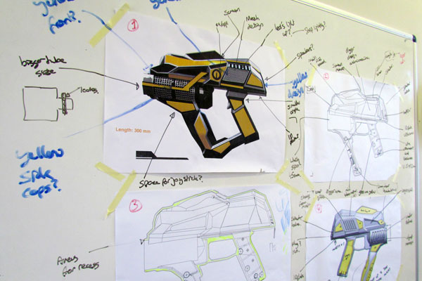 Holovis whiteboard development work
