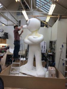 Megamorph sculpting in progress