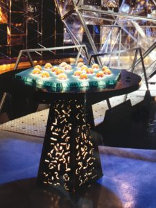 Crystal Maze table