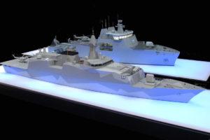 marine models