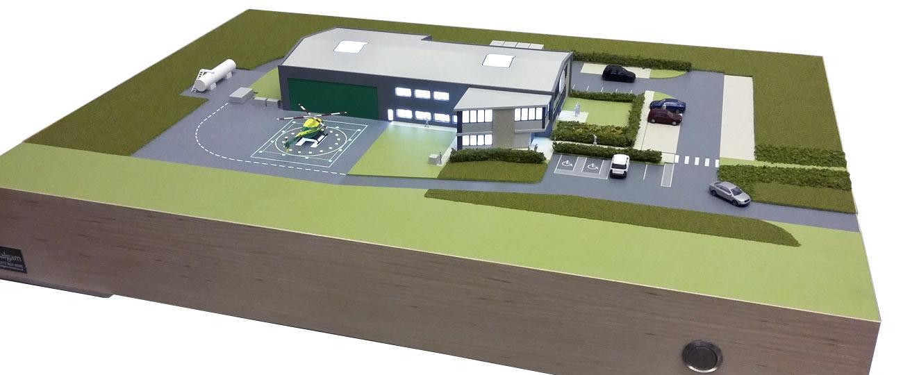 Wiltshire Air Ambulance Hq Fundraising Model Model