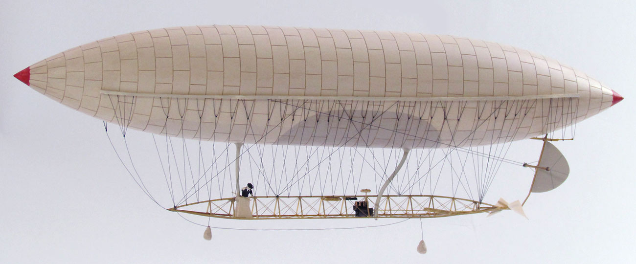 Santos Dumont No.6 Airship Model