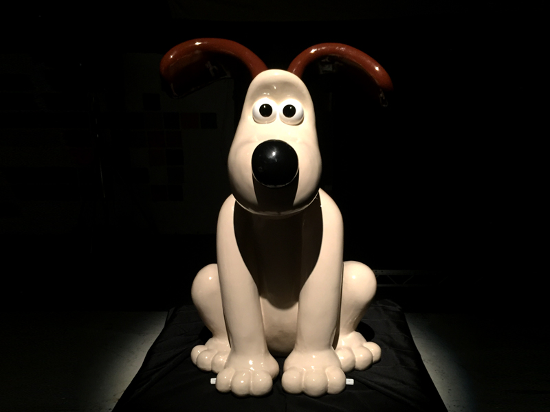 Aardman Sculptures - Gromit