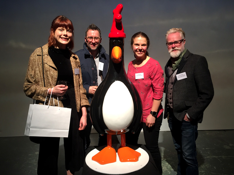 aardman sculptures, the Amalgam team