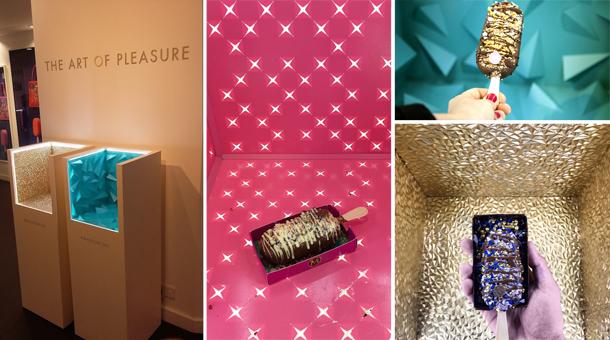 premium brand displays - Magnum-Instagram booths