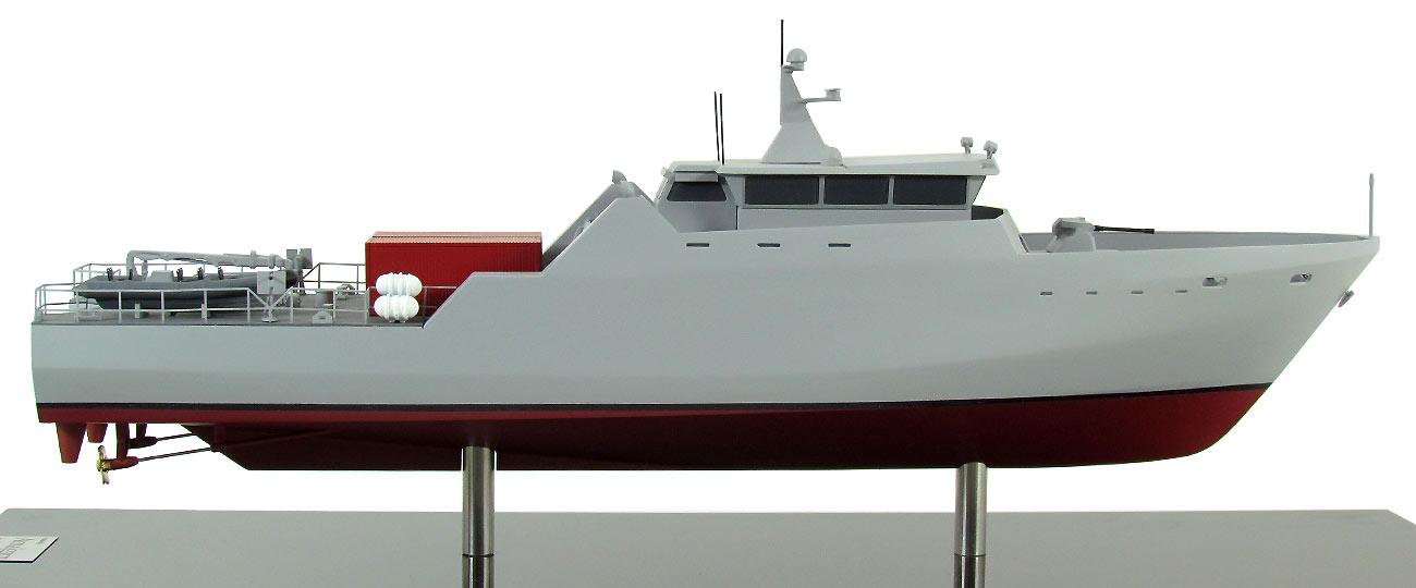 Coastal Patrol Vessel Model