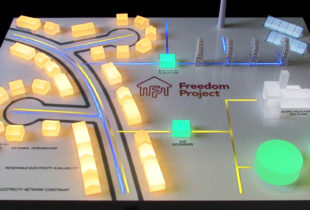 Western Power Distribution 'Freedom Street' Demonstration Model