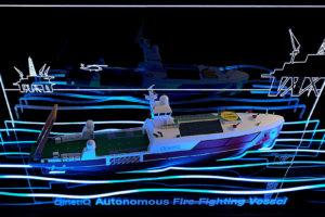 Qinetiq Autonomous Firefighting Vessel