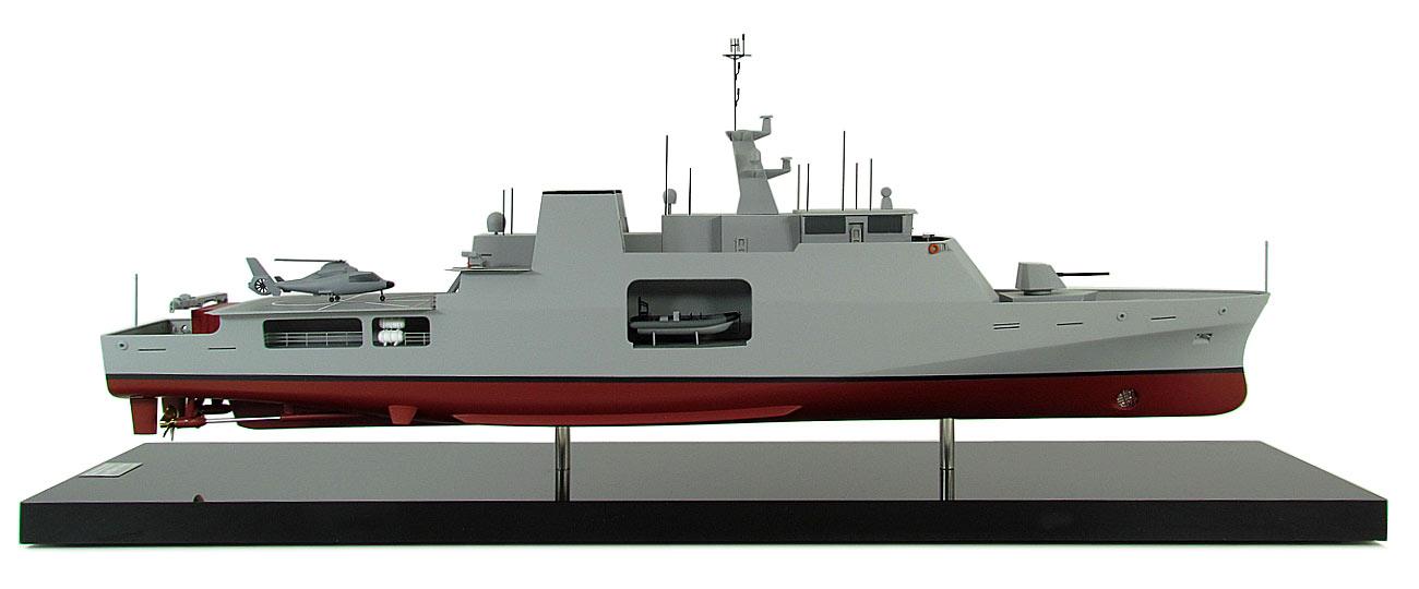 Naval Model Babcock Anhinga