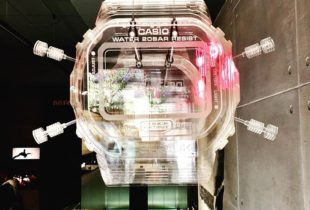 Exploded G-SHOCK Watch For Carnaby Street Store Display