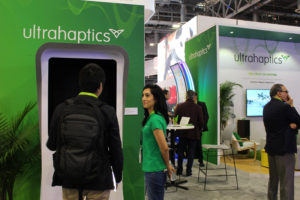 Ultrahaptics-Exhibition CES 2018
