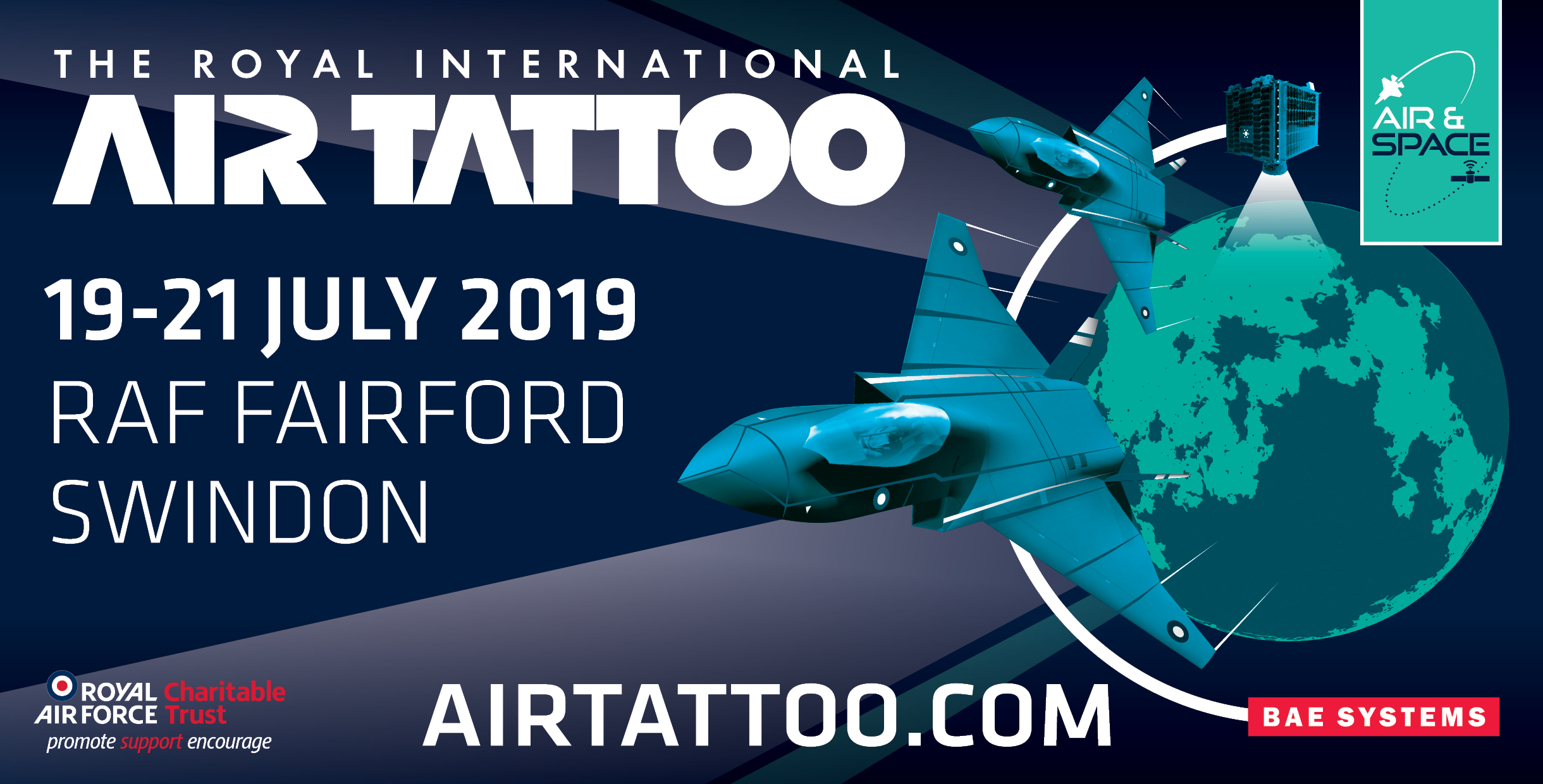Royal International Air Tattoo – 19-21 July 2019