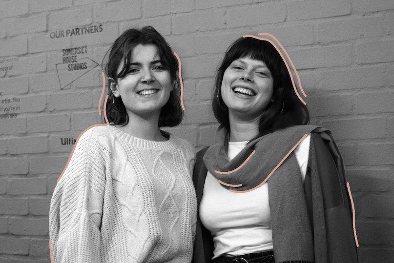 Ciara Shine and Amalgam intern, Kimberly Dobney. Turn and Flow