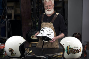 Paul Galloway Motorcycle Helmets - Amalgam Models