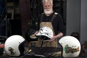 Paul Galloway Motorcycle Helmets - Amalgam Models
