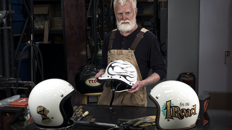 Paul Galloway | Custom Motorcycle Helmets