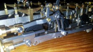 Miniature working engineering - Locomotive gear
