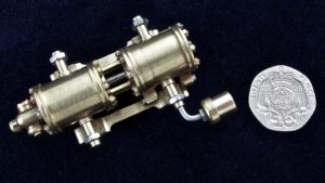 Miniature working engineering - pump detail